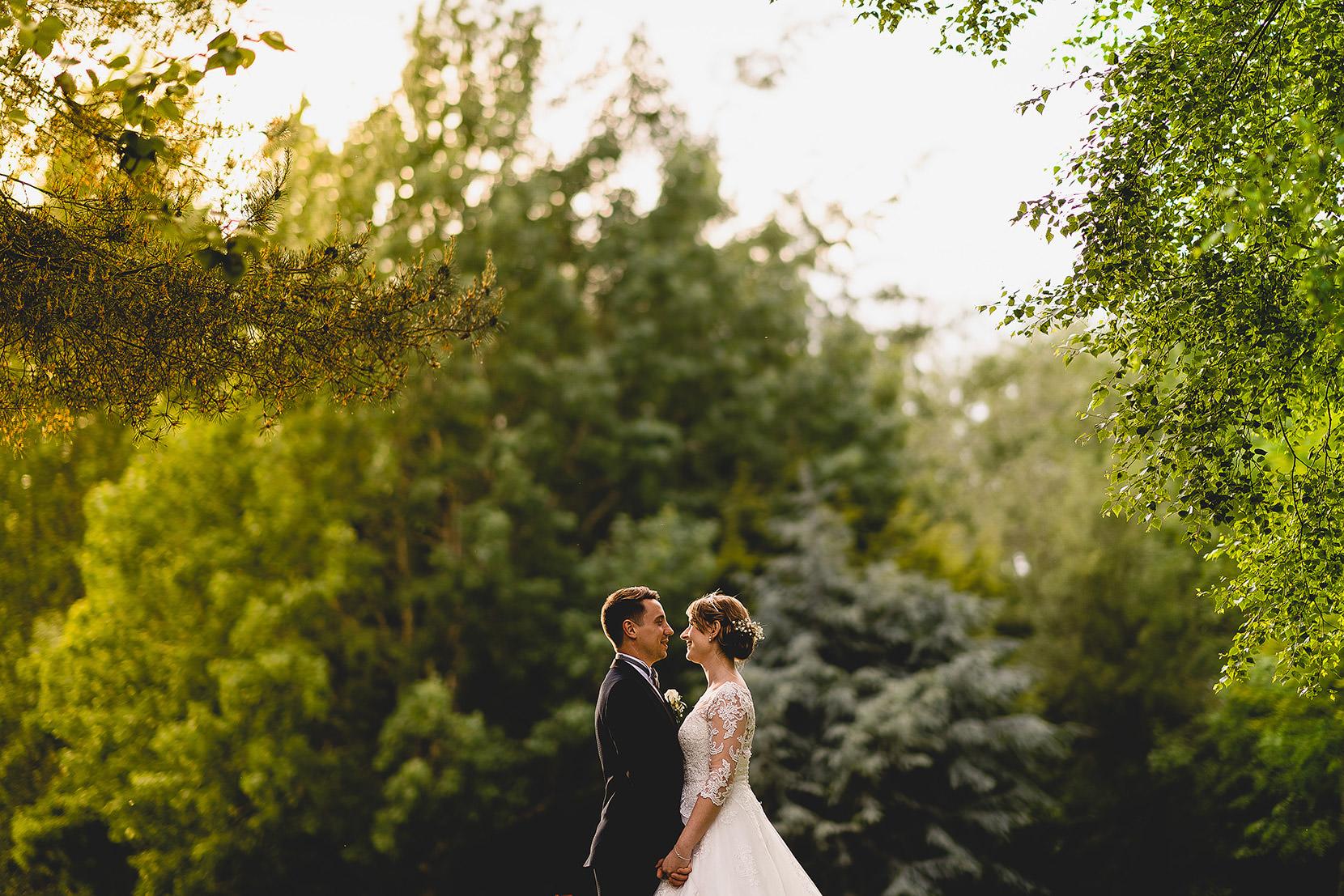 Andrew & Samatha's wedding photographs at Rookery park